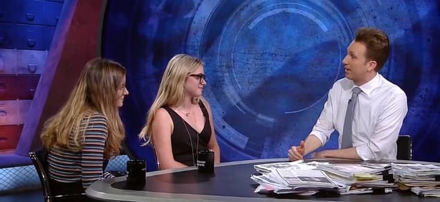 Jordan Klepper meets the real, battle-hardened opposition to the NRA's agenda on The Opposition