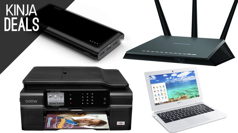 Illustration for article titled Today's Best Deals: Powerful Router, $110 Chromebook, and a Lot More