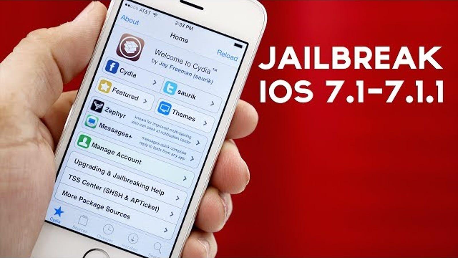 Cómo hacer jailbreak a tu iPhone o iPad con iOS 7.1.1