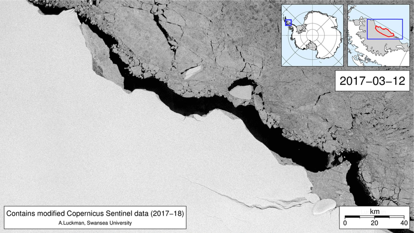 Here's What Antarctica's Massive Iceberg Has Been Up to Over the Past Year