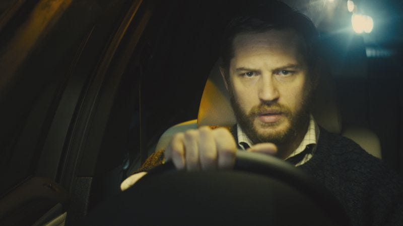 Illustration for article titled Tom Hardy takes an unsatisfying solo drive in Locke