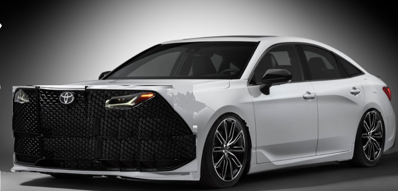 Illustration for article titled 2020 typical Toyota sedan: