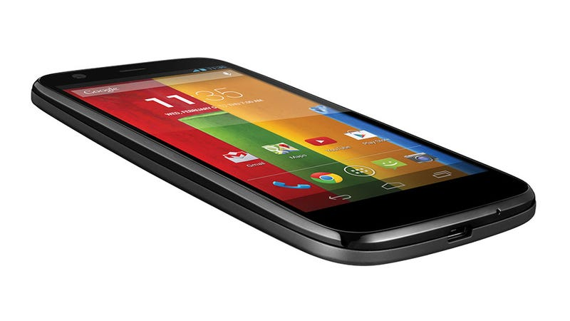Illustration for article titled Motorola Moto G: $180 (Off Contract!) of Android KitKat Goodness