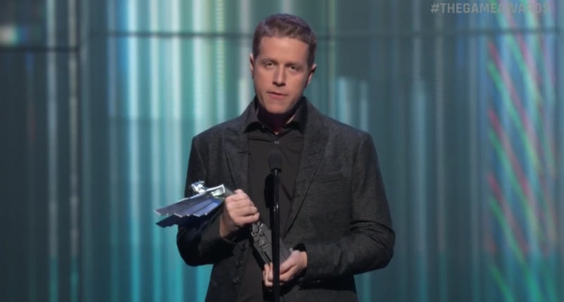 Illustration for article titled Geoff Keighley Gives Emotional Speech For Hideo Kojima, Puts Konami On Blast