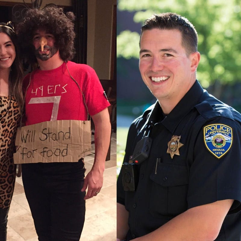 Nev campus police officer dons racist costume to mock colin glaserface via twitter solutioingenieria Images