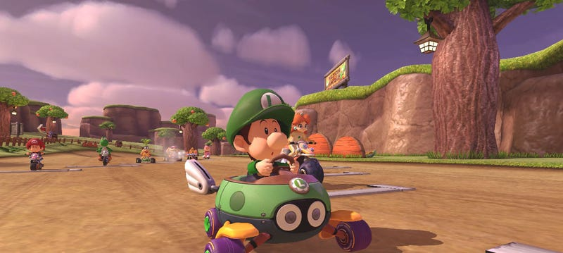 Illustration for article titled Mario Kart 8, Running At 4K