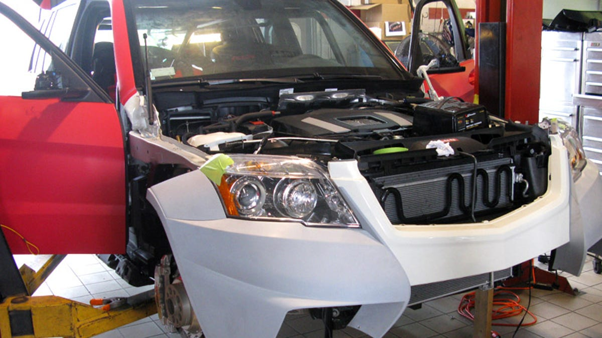 Inside The RENNTech GLK350 SPEC R HYBRID Rally-Inspired SEMA Racer