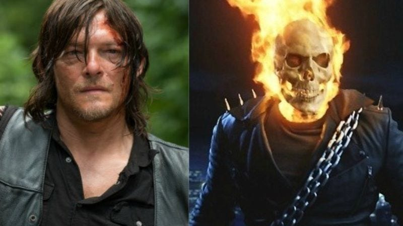 (The Walking Dead / Ghost Rider)