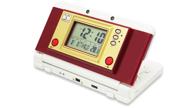 Illustration for article titled Turn Your New 3DS Into a Retro Game & Watch With This Faceplate