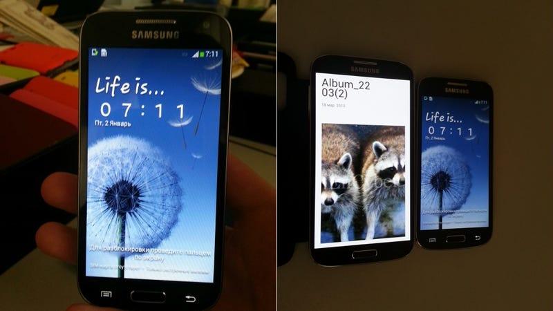 Illustration for article titled Se filtran imágenes del nuevo Samsung Galaxy S4 Mini