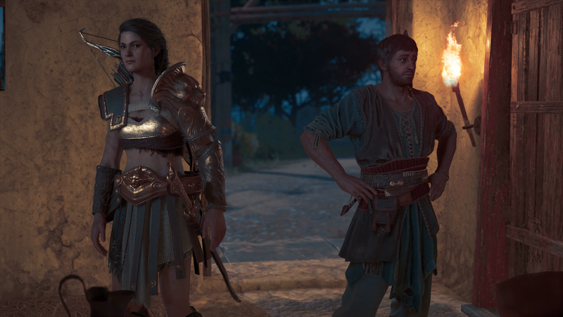 Illustration for article titled Assassin's Creed Odyssey's Latest DLC Has A Romantic Ending You Can't Change