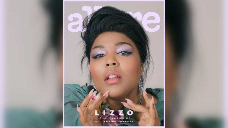 Illustration for article titled Pardon Me, Lizzo's Allure Cover Is Incredible