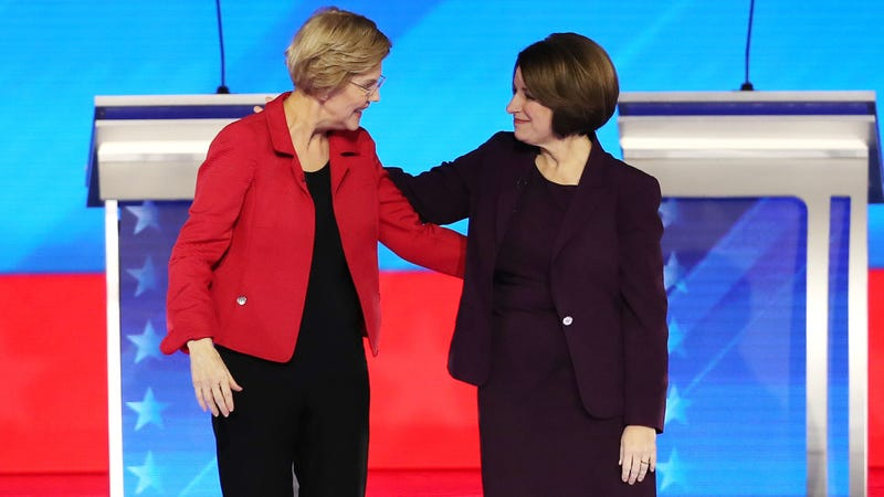 Illustration for article titled College-Educated White Women Are Behind Amy Klobuchar's New Hampshire Surge