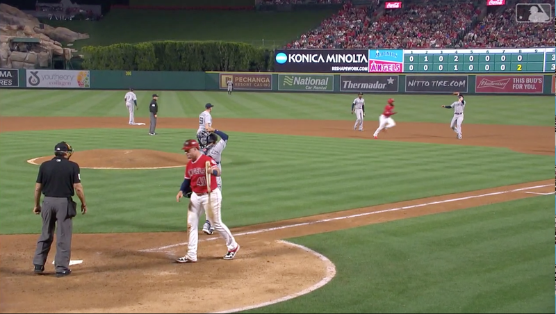 Angels' Justin Bour Gave Up An Embarrassing Double-Play Because Of A Massive Brain Fart