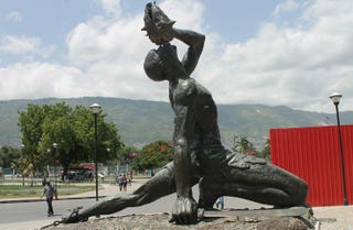 Le Negré Marron in Haiti (Wikimedia Commons)
