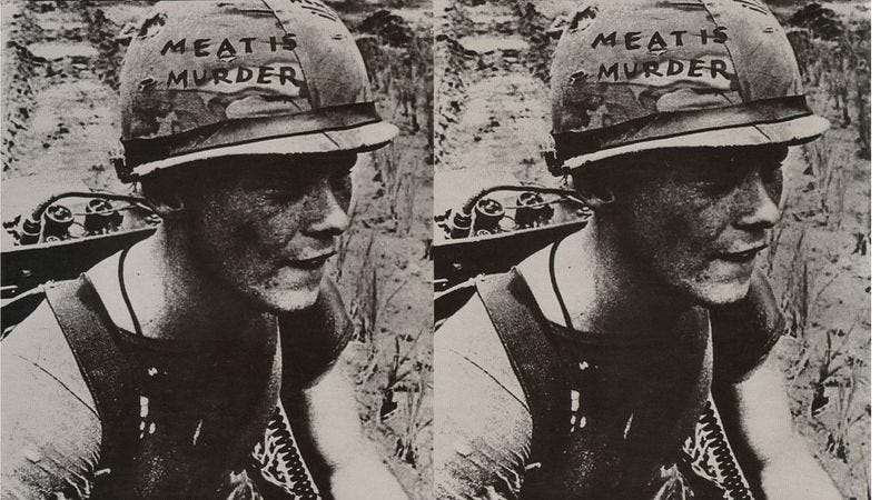 """Illustration for article titled The Smiths' """"Meat Is Murder"""" is nauseating to vegetarians and carnivores alike"""