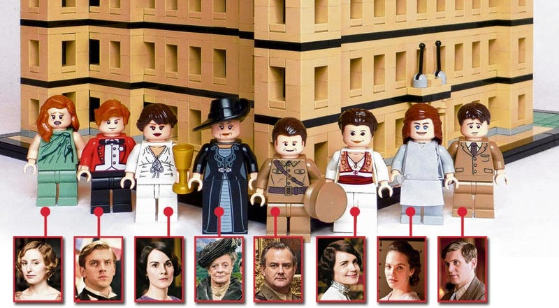 Illustration for article titled Lego Downton Abbey is bloody brilliant