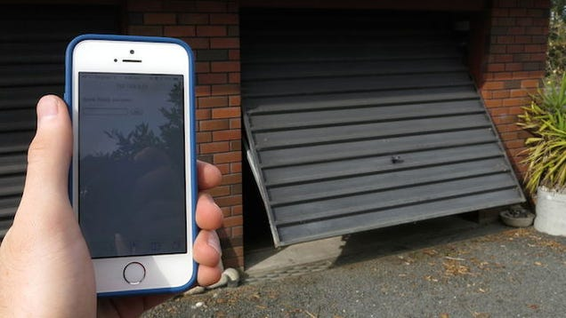 Open Garage Door With Smartphone Garage Door Opener With an