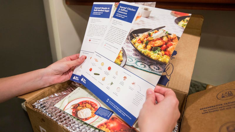 Illustration for article titled Some Costcos to sell Blue Apron meal kits, presumably not in 500-count boxes