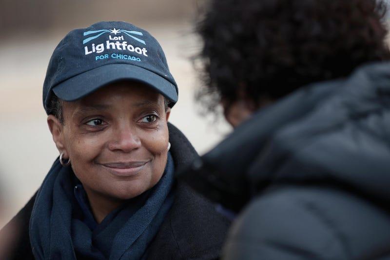 Chicago Mayor-elect Lori Lightfoot