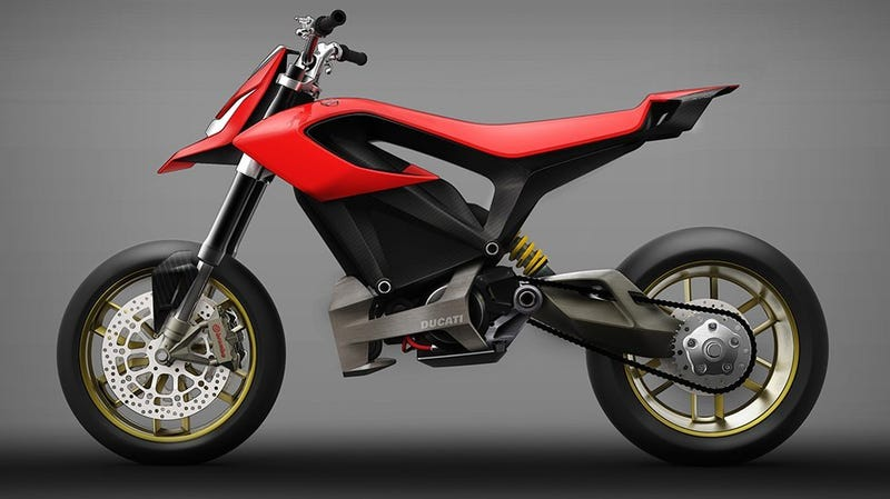 Illustration for article titled Ducati is Close to a Production Electric Bike