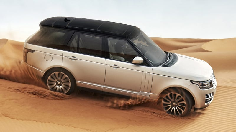 Illustration for article titled The 2013 Range Rover Loses 700 Pounds