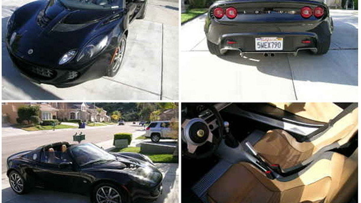 Tainted Love - 2005 Lotus Elise for $19,500!