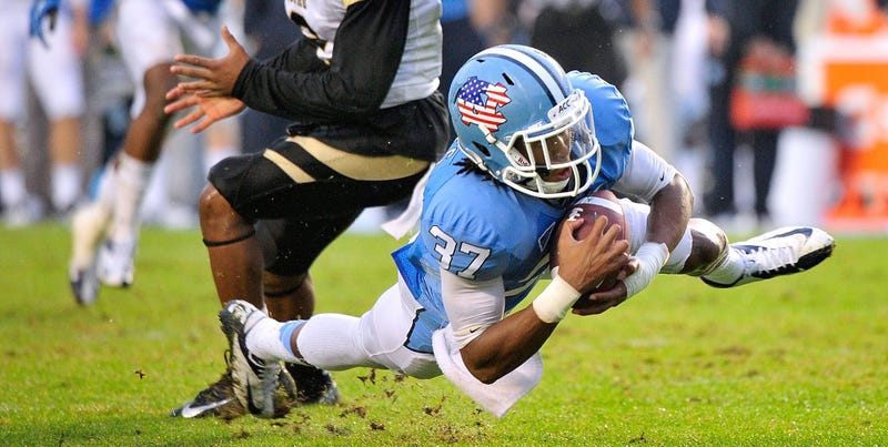 Illustration for article titled North Carolina Football Player T.J. Jiles Arrested, Charged With Assault