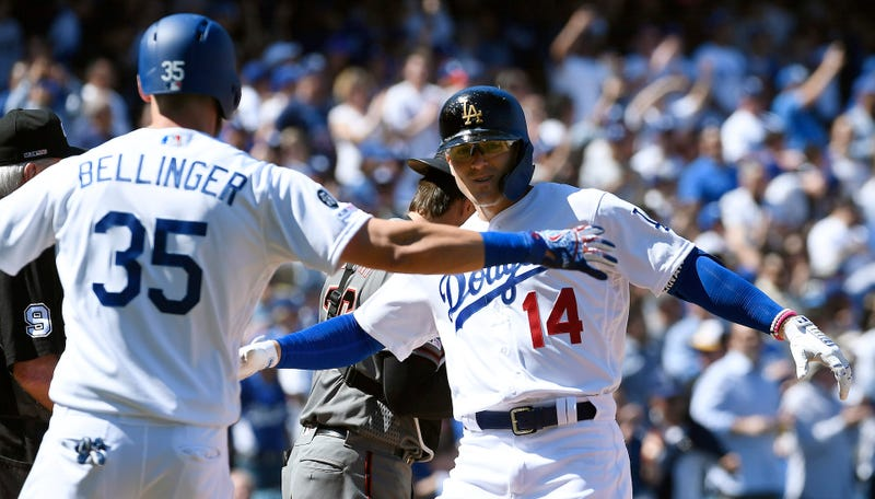 Illustration for article titled Dodgers Set New Opening Day Record By Bashing Eight Dingers