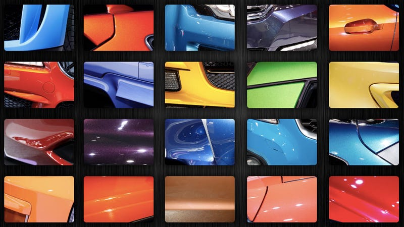 Illustration for article titled Your Future Car Could Have One Of These Amazingly Bright Colors