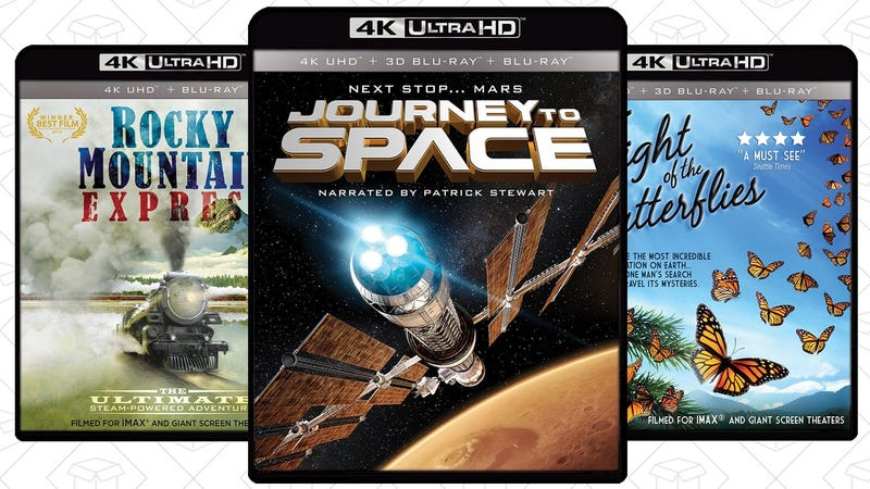 Rocky Mountain Express, $12 | Journey to Space, $12 | Flight of the Butterflies, $12