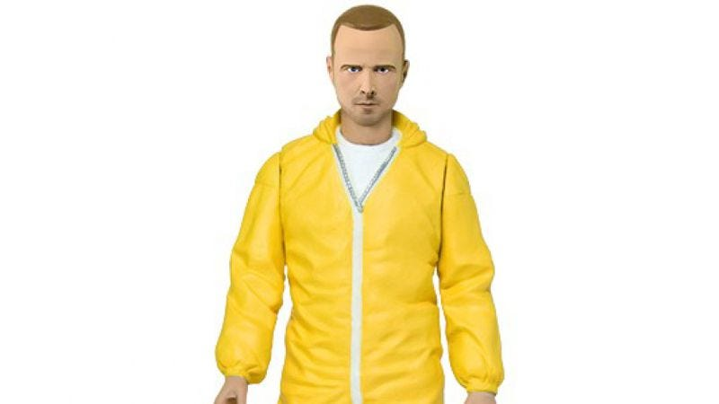 Illustration for article titled Aaron Paul calls Toys R Us a bitch for pulling Breaking Bad action figures