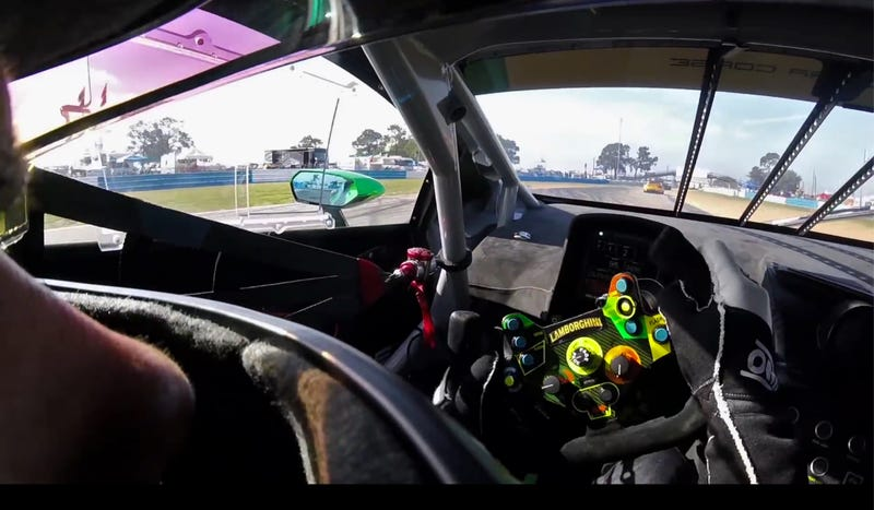 Inside The Lamborghini Huracan Gt3 Is The Nicest Place To Be