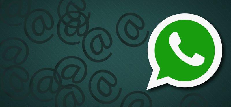 Illustration for article titled WhatsApp ahora permite hacer menciones para que no puedan ingorarte ni silenciando el grupo