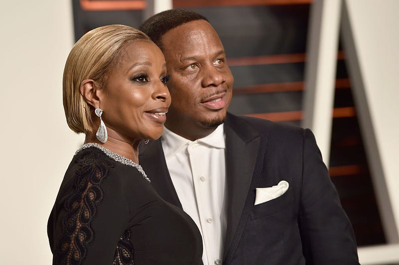 Mary J. Blige and Kendu Isaacs during happier times (Pascal Le Segretain/Getty Images)