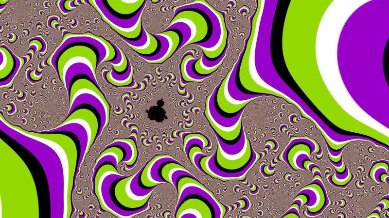 Coba Deh Pasti Asik, Kalau Lihat Ilusi Optik Ini Kamu Pusing dan Bingung Gak?