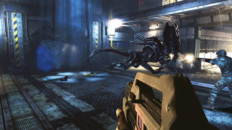 Illustration for article titled These New Aliens: Colonial Marines Screenshots Will Make You Drool