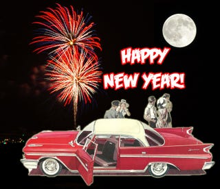 Illustration for article titled Happy New Year from Jalopnik!