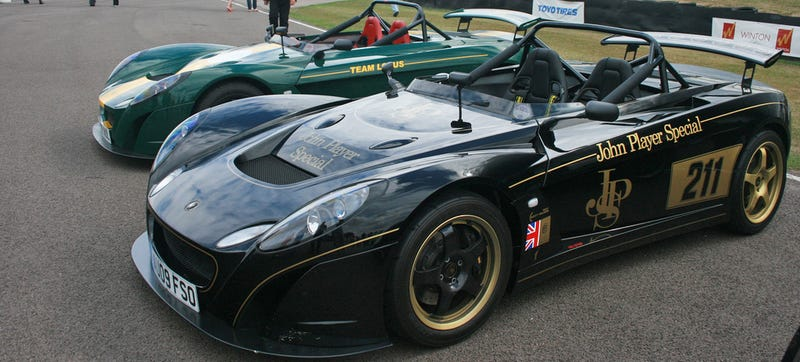 Illustration for article titled Report: Lotus 3-Eleven Track Car To Be Under 2000 Pounds, Packing 420 HP