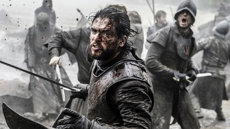Jon Snow lives to fight another day. (Photo: Helen Sloan/HBO)