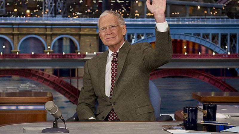 Illustration for article titled David Letterman's final Late Show will be May 20