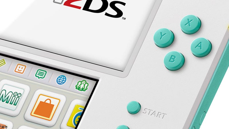 Illustration for article titled Well, At Least The 2DS Continues To Look Nice