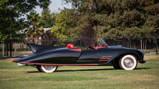 Illustration for article titled The World's First Official Batmobile Has Been Sold At Auction