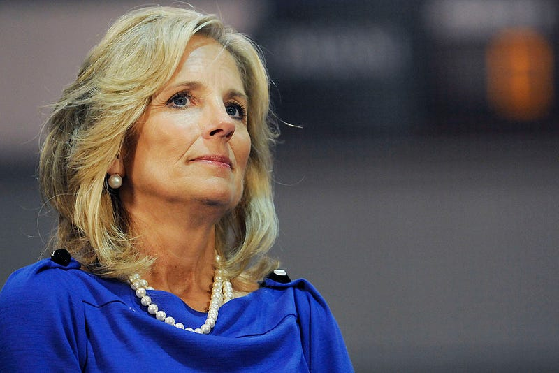 Illustration for article titled Jill Biden Adds Fuel to Joe Biden's Anita Hill Fire by Saying 'It's Time to Move On'