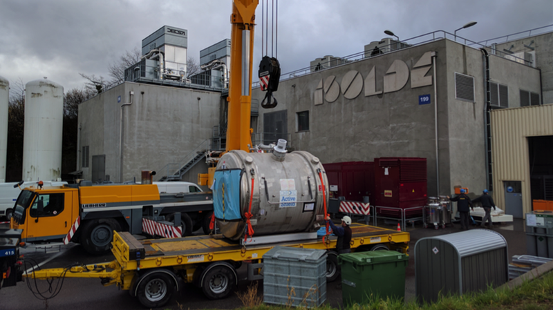 The magnet (Image: Karl Johnston/CERN)
