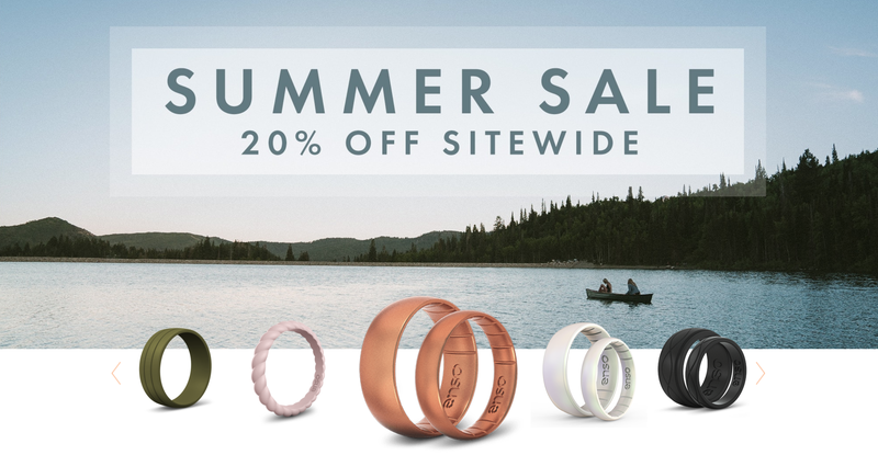 20% off Sitewide | Enso Rings