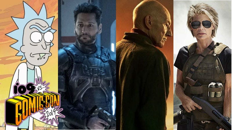 Rick and Morty, The Expanse, Star Trek: Picard, and Terminator: Dark Fate are all coming to Comic-Con.