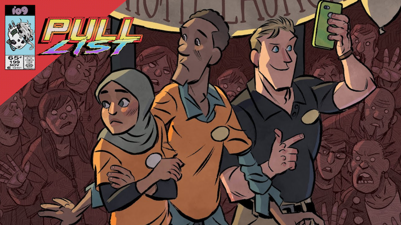 The heroes of Lion Forge's Cellies.