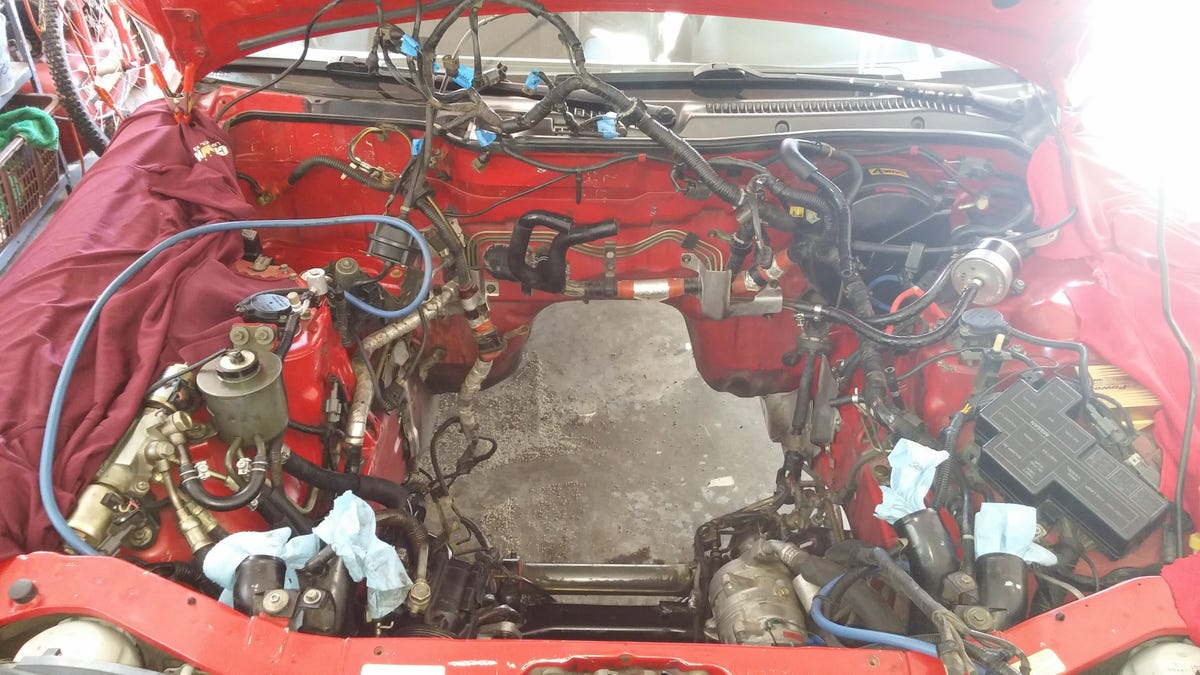 Heres Exactly What It Cost To Buy And Rebuild A Nissan 300zx Twin Turbo Engine Harness Vg30dett Wiring Specialties