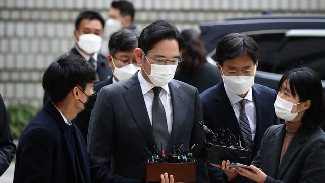 Samsung Heir: Sorry I m in Jail, but Uh, Please Keep Working